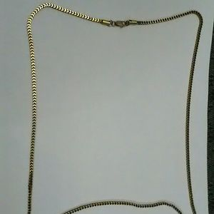 "24"" Women's gold plated snake chain"